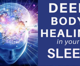 HEAL while you SLEEP ★ Deep Body Healing Manifest ★ Cell Repair and Pain Relief Healing Meditation