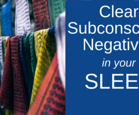 Clear Subconscious Negativity Sleep Hypnosis ★ Stop Negative Thoughts