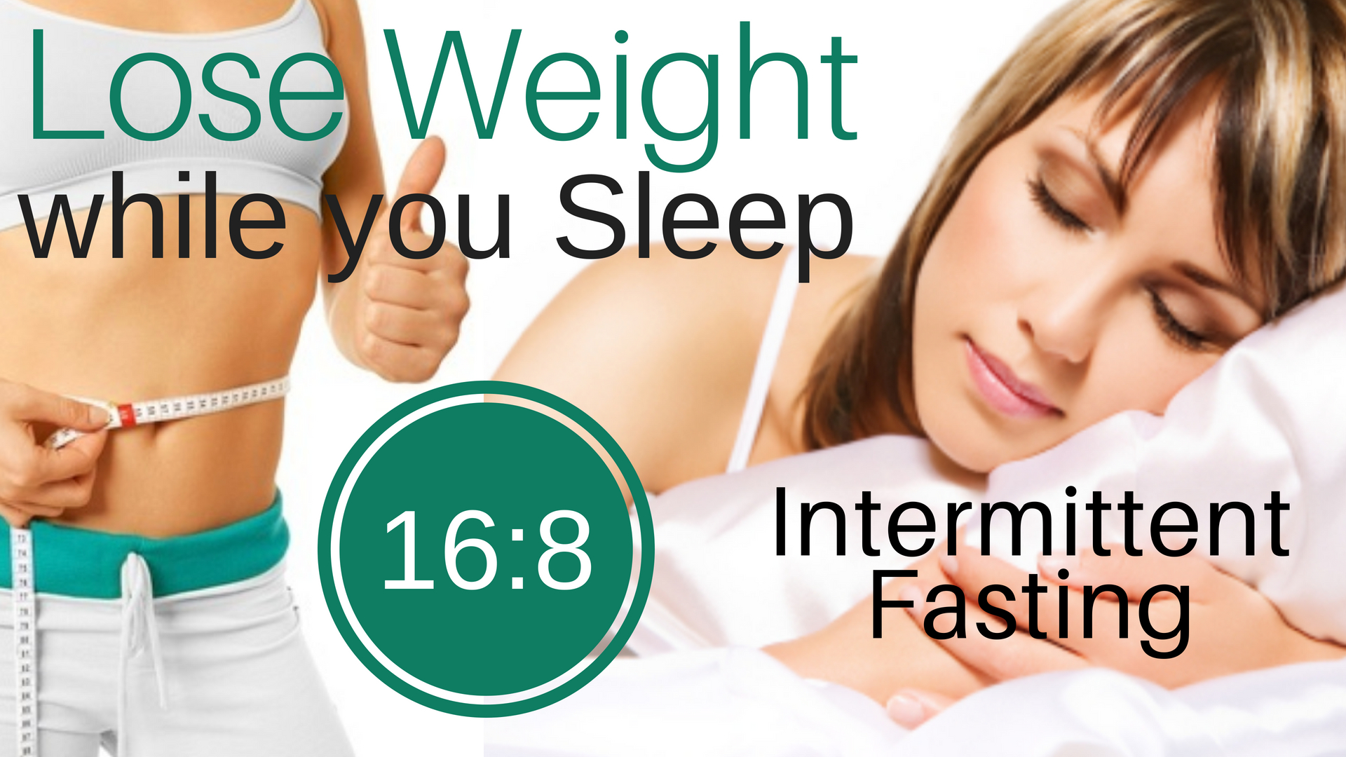LOSE WEIGHT While You SLEEP ★ 16:8 Intermittent Fasting