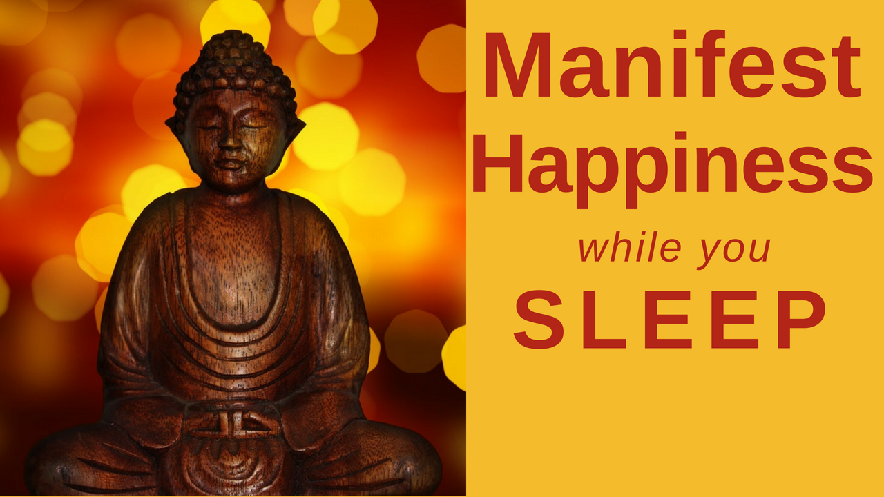 HEAL while you SLEEP ★ Manifest Happiness Guided Meditation