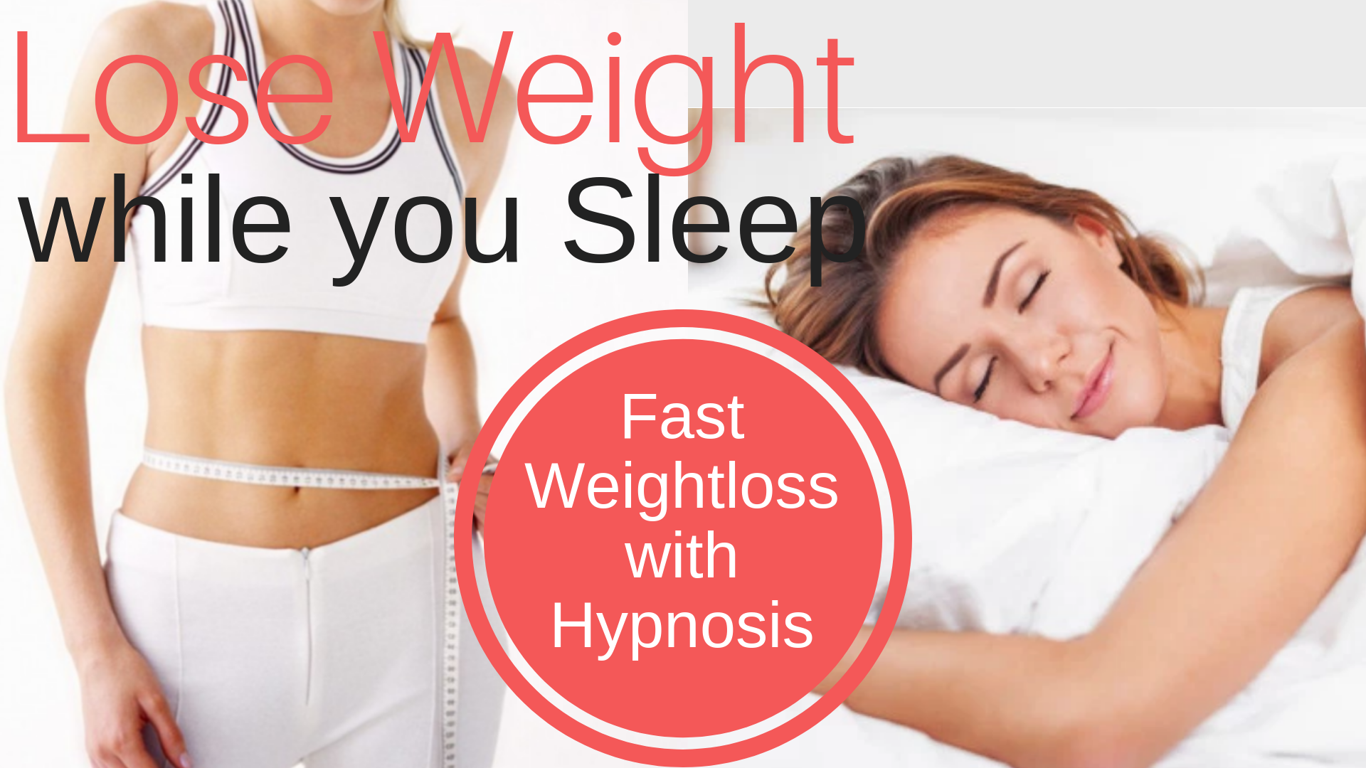 LOSE WEIGHT while you SLEEP ★ Fast Weight Loss Hypnosis
