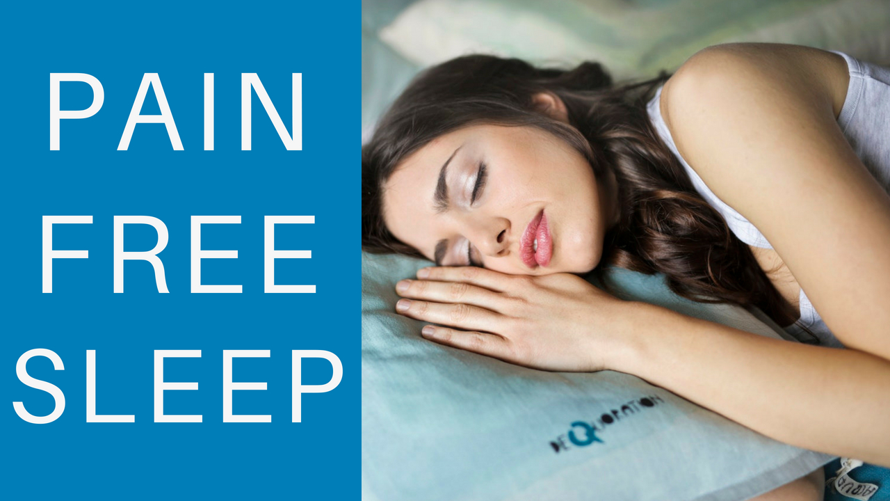 Pain Free Sleep Meditation ★ Stop Pain and Heal While You Sleep