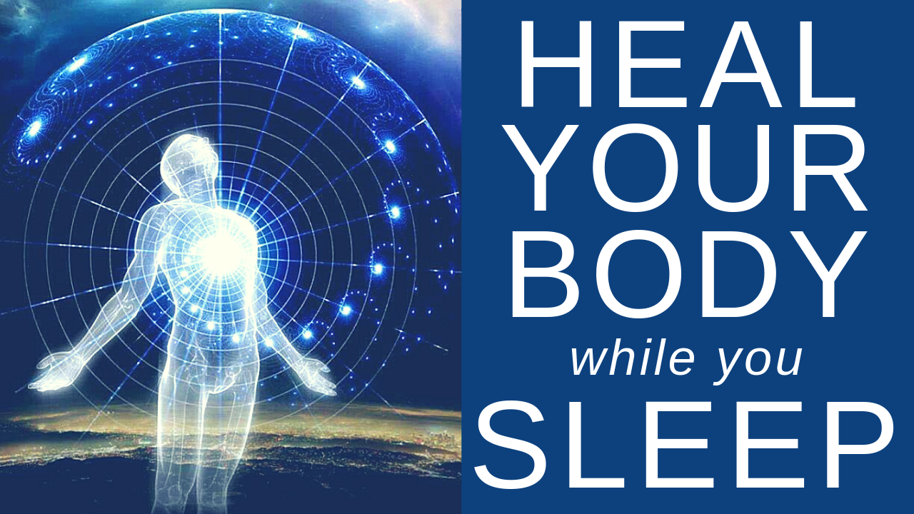 HEAL while you SLEEP ★ Cell Repair, Pain Relief and Deep Relaxation