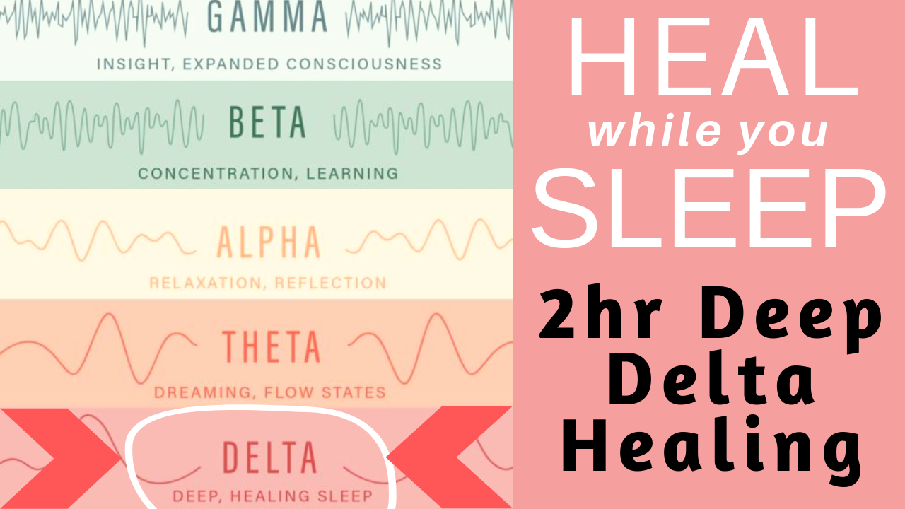 HEAL while you SLEEP ★ 2Hr Deep DELTA Sleep for Healing