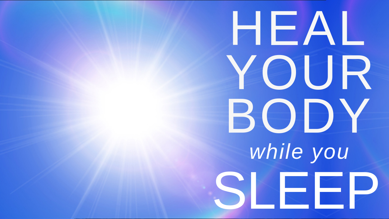 HEAL while you SLEEP ★ Reduce Inflammation, Repair Cells