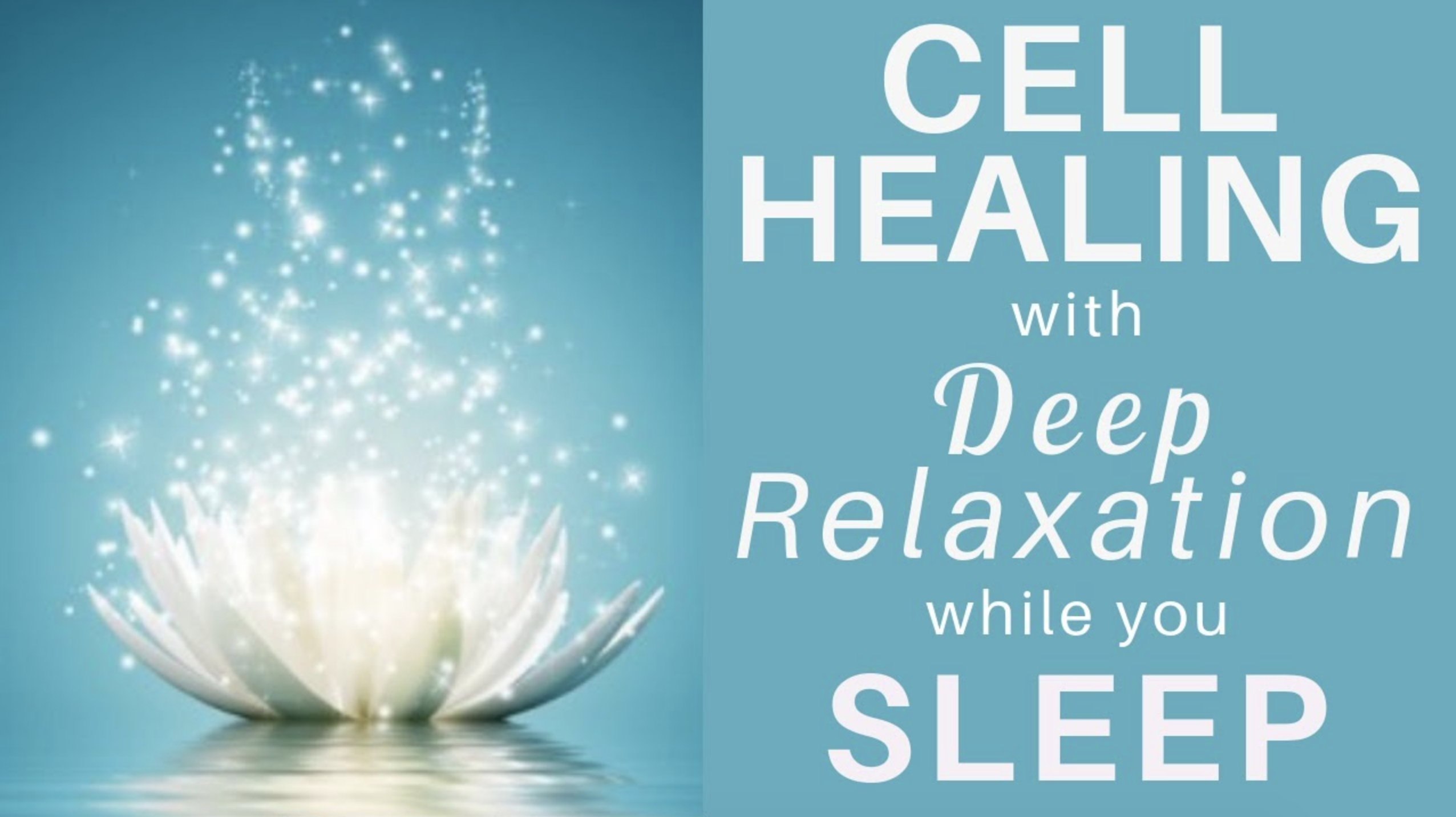 HEAL while you SLEEP ★ Cell Healing and Pain Relief Guided Meditation